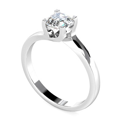 Asscher Diamond Engagement Ring DHDOMR1139AS Image