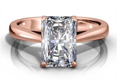 Classic Radiant Diamond Engagement Ring DHRZ0531RA Image