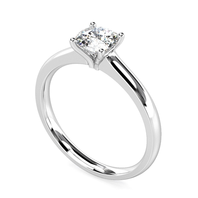 Modern Cushion Diamond Engagement Ring DHMTSS872CU Image