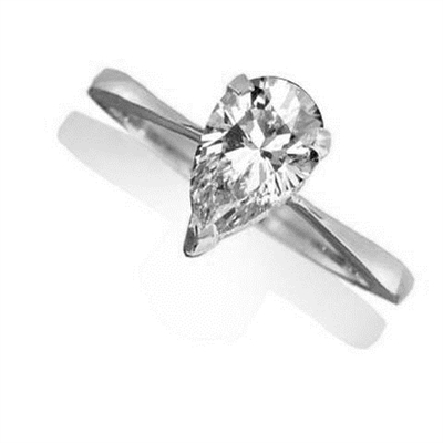 Pear Diamond Engagement Ring ER190 Image