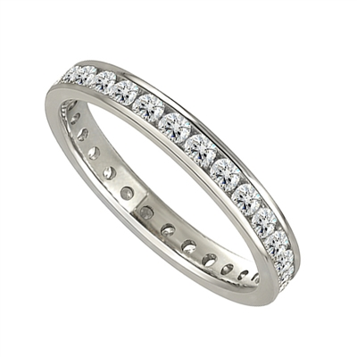 3mm Elegant Round Diamond Full Eternity Ring DHJXE01013FETCRND Image
