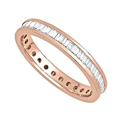 3mm Elegant Baguette Diamond Full Eternity Ring DHJXE01102FETCBAG Image