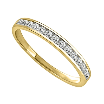 Petite Round Diamond Eternity Ring DHJXM04464HETCRND Image