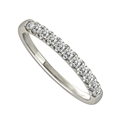0.25ct VS/EF Prong Set Eternity Ring DHJXM04488HETPRND/SSUM4625 Image