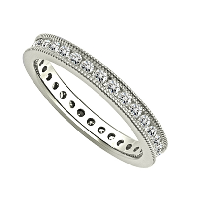 3mm Elegant Round Diamond Full Eternity Ring DHJXE01312FETCRND Image