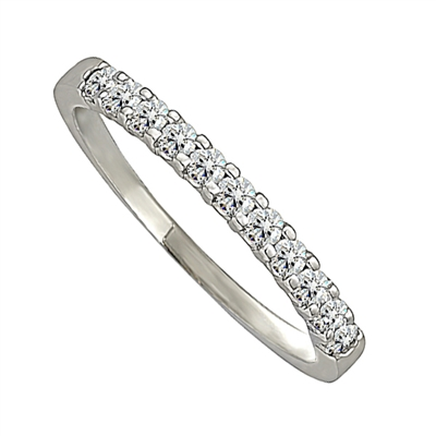 2mm Elegant Round Diamond Eternity Ring DHJXM8023HETPRND Image