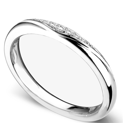 2.5mm Shaped Diamond Wedding Ring DHDOMWR11144 Image
