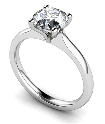Round Diamond Engagement Ring DHMTSS858R Image