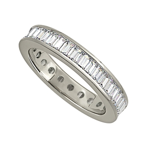 Image for 1.50ct Classic Baguette Diamond Full Eternity Ring