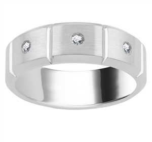 Men's Platinum Diamond Wedding Rings