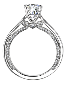 Image for Elegant Round Diamond Engagement Ring