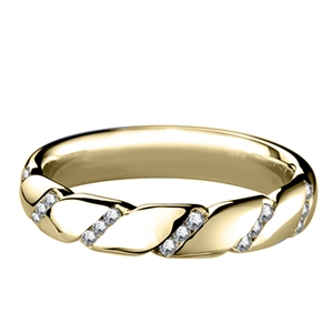 Image for 6mm Designer Diamond Wedding Ring