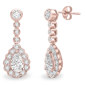 Buy Diamond Hoop & Drop Earrings Online
