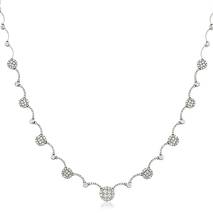 Buy 18ct White Gold Diamond Necklace