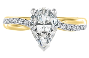 Buy Shoulder Set Diamond Rings Online