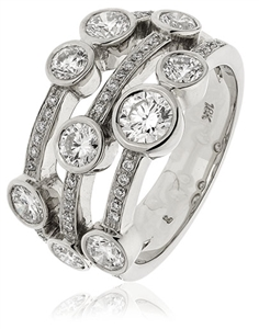 Image for 0.75CT Round Diamond Dress Ring
