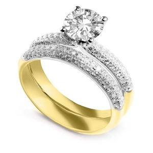 Image for Classic Vintage Round Diamond Ring