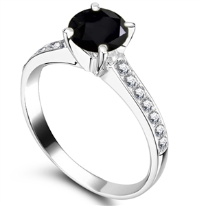 rings striking ring engagement black best diamond