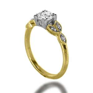 Image for Designer Vintage Round Diamond Ring