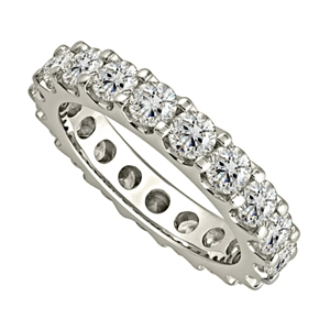 Image for 3.00CT Elegant Round Diamond Full Eternity Ring