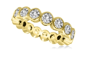 Image for Round Full Diamond Eternity Ring