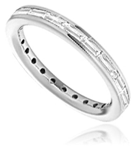 Image for Unique Baguette Diamond Eternity Ring