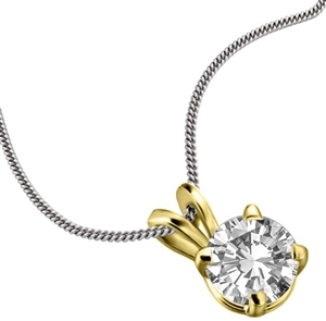 Buy Diamond Solitaire Necklaces Online