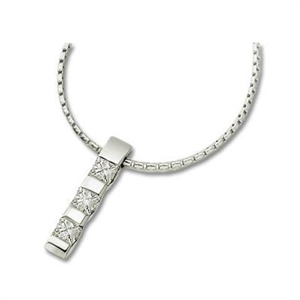 Image for Classic Princess Diamond Trilogy Pendant