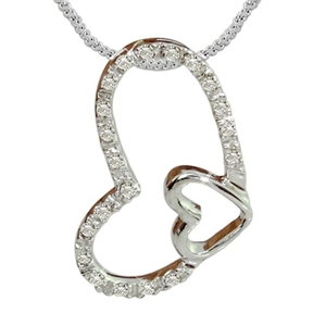 Buy Diamond Heart Pendant Online