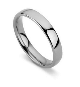 Image for 4mm Court Shape Wedding Ring