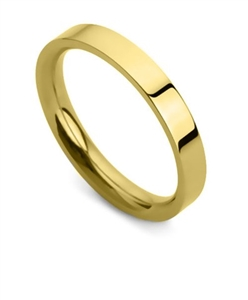 Buy Flat Court Wedding Rings Online