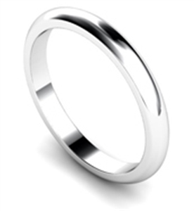 Women's D Shape Classic Wedding Rings