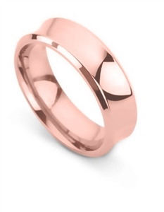 Image for 6mm Concave Wedding Ring
