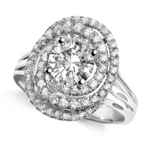 Image for Round Diamond Designer Ring