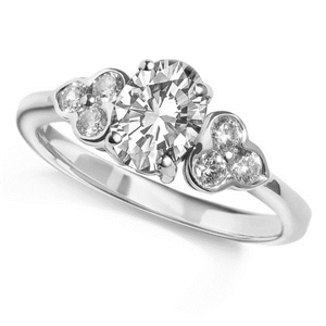 Image for Oval Diamond Designer Ring