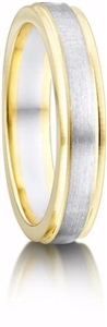 Yellow & White Gold Wedding Rings
