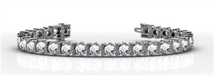 Image for Unique Modern Round Diamond Tennis Bracelet