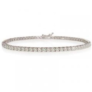 Buy 18ct White Gold Diamond Bracelets