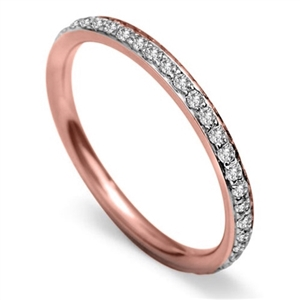 Image for 2mm Round Diamond 40% Wedding Ring