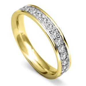 Image for 4mm Round Diamond 40% Wedding Ring