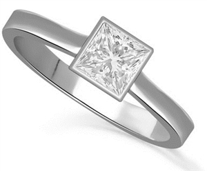 Image for Princess Diamond Engagement Ring