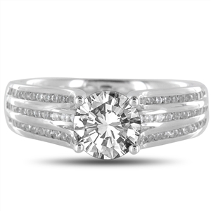 Image for Round Diamond Vintage Ring