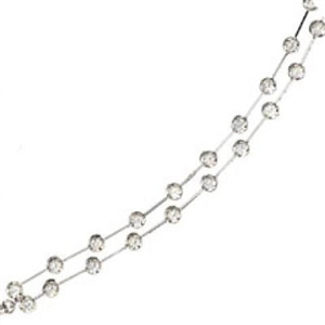 Image for Double Row Round Diamond Designer Bracelet
