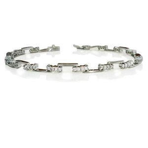 Image for Modern Round Diamond Designer Bracelet