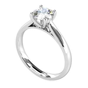 Image for Traditional Round Diamond Solitaire Ring