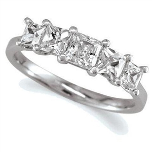 Image for Unique Princess Diamond Eternity Ring