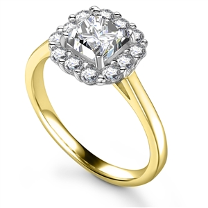 Buy Diamond Cluster Rings Online