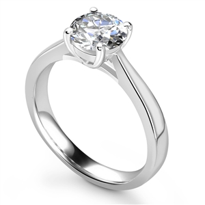 Image for Traditional Round Diamond Engagement Ring