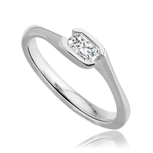 Image for Radiant Diamond Engagement Ring