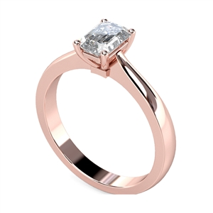 Image for Classic Radiant Diamond Engagement Ring